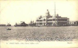 Suez Canal Office Port Said Eqypt Unused