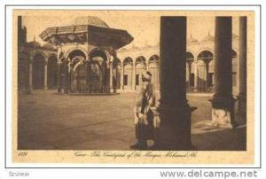 CAIRE, Egypt, The Courtyard of the Mosque Mohamed Ali, 1910-20s
