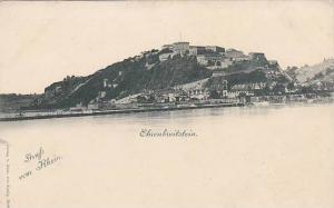 Gruss Vom Rhein, Ehrenbreitstein (Rhineland-Palatinate), Germany, 1900-1910s