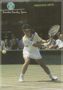 Arantxa Sanchez Vicario Wimbledon Lawn Museum Tennis Event Championship Postcard