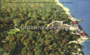 Waterside Theatre and Fort Raleigh Roanoke Island NC Unused