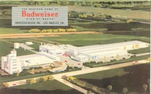 The Western Home of Budweiser, Los Angeles, California, u...