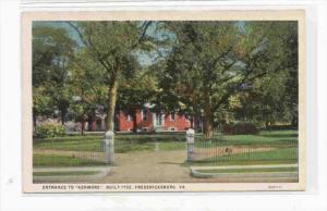 Entrance to  KENMORE  House , Fredericksburg , Virginia, 00-10s