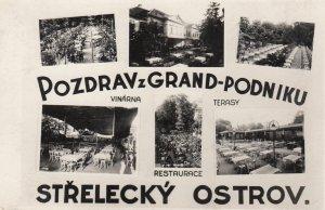 RP: Pozdrav z Grand-Podniku , Strelecky Ostrov , Czech Republic , 1930s