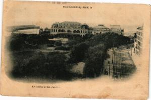 CPA  Boulogne-sur-Mer - Le Casino et les Jardins (240121)