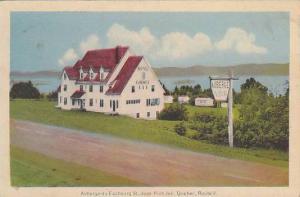 Auberge du Faubourg St, Hotel, JEAN PORT JOLI , Quebec , Canada , 1940s