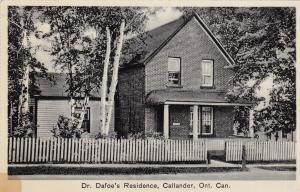 CALLANDER , Ontario , Canada, 1930s ; Dr. Dafoe's Residence