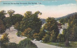 Arkansas Hot Springs Drive On Hot Springs Mountain