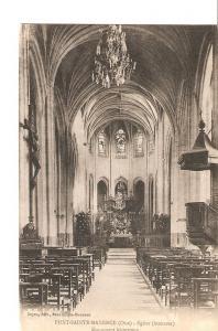 Postal 027393 : Pont-Sainte-Maxence (Oise) - Eglise. Monument historique