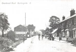 London Postcard, Cranbrook Road, Barkingside c1900 Reproduction Card T13
