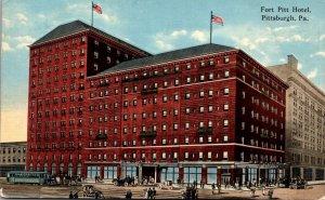 Pennsylvania Pittsburgh Fort Pitt Hotel 1915