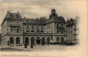CPA  Grenoble -Hotel des Postes et des Télégraphes (243725)
