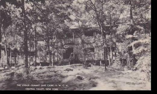 New York Central Valley Camp Y.M.C.A  Lodge Summit Lake  Artvue
