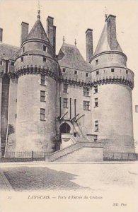 France Langeais Porte d'Entree du Chateau