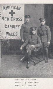 War 1914-18; American Red Cross , CARDIFF , Wales , UK