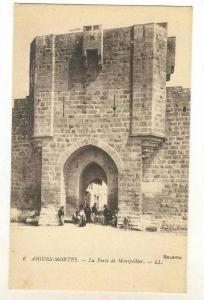 La Porte De Montpellier, Aigues-Mortes (Gard), France, 1900-1910s