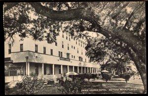 22820) Florida DAYTONA BEACH Prince George Hotel - pm1949 - Albertype