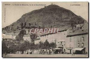 Old Postcard Murat Le Rocher de Bonnevie view of the Sub Prefecture