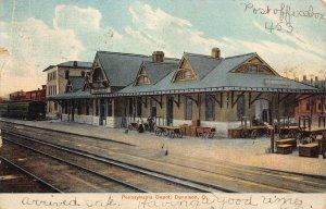 LPS75 DENNISON Ohio Pennsylvania Depot Postcard