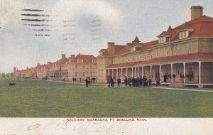 Soldier's Barracks , FORT SNELLING , Minnesota , PU-1906