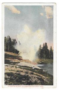 WY Yellowstone National Park Riverside Geyser Gifford 1922