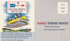 HUMBLE Touring Service , NEW TORK CITY , 1930s