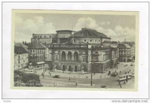 Kobenhavn, Danmark 1910-30s ; Det kongelige Teater