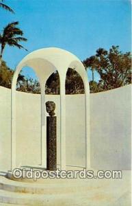 Cape Coral, FL, USA Postcard Garden of Patriots, Cape Coral Gardens