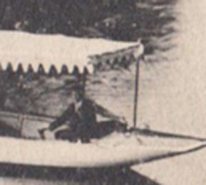 Below Whitchurch Lock Unique Boats Sailing Pangbourne Berkshire Antique Postcard