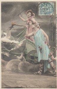 RP: 2 Fantasy women , 1904