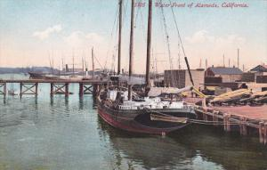 Ships, Water Front of  Alameda,  California,  00-10s