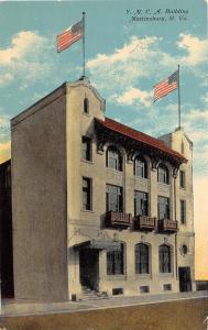 C48/ Martinsburg West Virginia WV Postcard 1913 YMCA Building