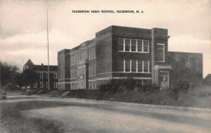 Tuckerton High School, Tuckerton, New Jersey,  Early Postcard, Unused