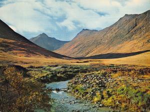 Giant Size Scotland Postcard Glen Sannox, Isle of Arran OS145