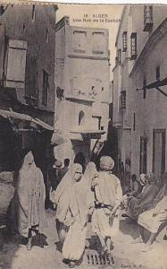Street Scene, Une Rue De La Casbah, Alger, Algeria, Africa, 1900-1910s