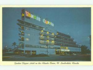 Pre-1980 YANKEE CLIPPER HOTEL Fort Lauderdale Florida FL HQ2282