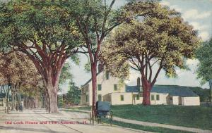 Old Cook House And Elm, Keene, New Hampshire, 1900-1910s