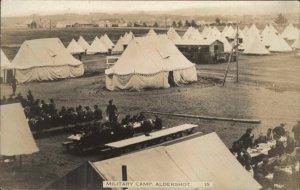Aldershot Nova Scotia Canadian Military Camp c1910 Real Photo Postcard