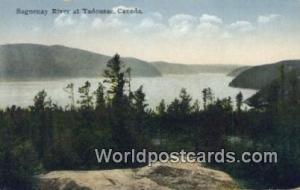 Tadousac Canada, du Canada Saguenay River  Saguenay River
