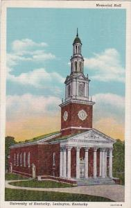 Memorial Hall University Of Kentucky Lexington kentucky 1948