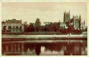 Worcester Cathedral and Deanery Valentine's Postcard