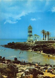 Portugal Cascais Farol Phare Lighthouse Postcard