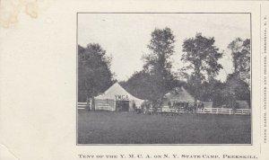 PEEKSKILL , New York , PMC 1898 ; YMCA Tent, NY State Camp