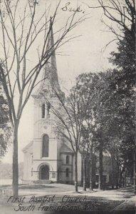 SOUTH FRAMINGHAM, Massachusetts, 1900-10s; First Baptist Church
