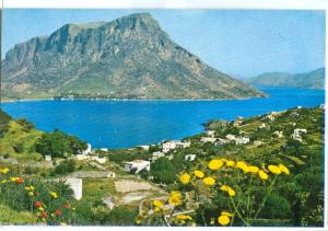 Greece, Kalymnos, View of Telentos, unused Postcard