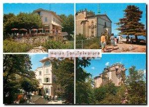 Postcard Modern Monte San Salvatore Lugano