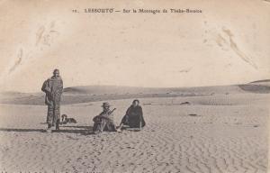 LESSOUTO, South Africa, 00-10s; Sur la Montagne de Thaba-Bossiou