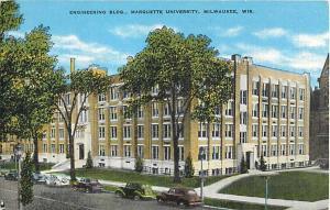 Linen of Engineering Building Marquette University Milwaukee