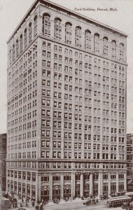 DETROIT , Michigan , 00-10s ; Ford Building