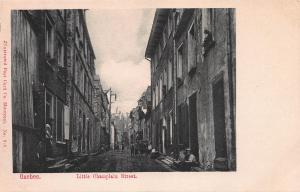 Little Champlain Street, Quebec City, Canada, Early Postcard, Unused